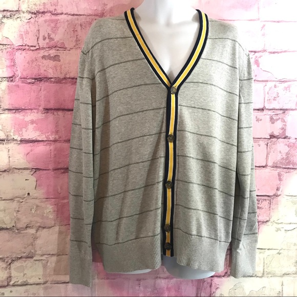 Tommy Hilfiger Other - Tommy Hilfiger Preppy Cardigan Sweater XL